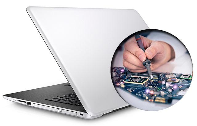 Ремонт и замена материнской платы ноутбука, цена от 750 руб
